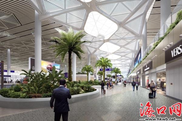 已引进548个品牌商家 海口打造全国最大机场离岛免税商业区