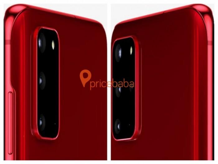 三星准备推出红色版本GalaxyS20和S20+智能手机 于3月6日上市