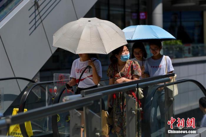 江南华南有持续性强降水 华北黄淮有持续性高温天气