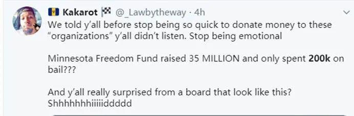 """欧博allbet注册:""""3500万美元只投入了20万""""?美网友诘责""""辅助黑人群体慈善组织"""":善款都去哪了? 第9张"""