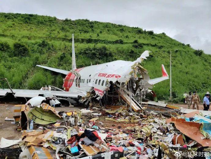 allbet电脑版下载:日间照片来了:印度客机坠毁现场