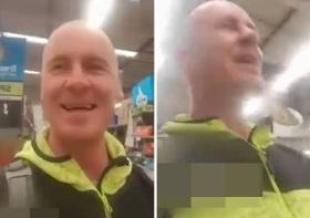 新西兰一男子超市里自拍故意对其他顾客咳嗽被捕
