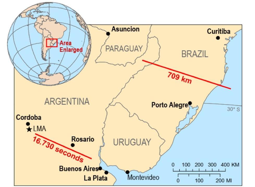 环球ug客户端下载:世界气象组织:迄今为止直径最长和持续时间最长的雷电均发生在南美洲 第1张