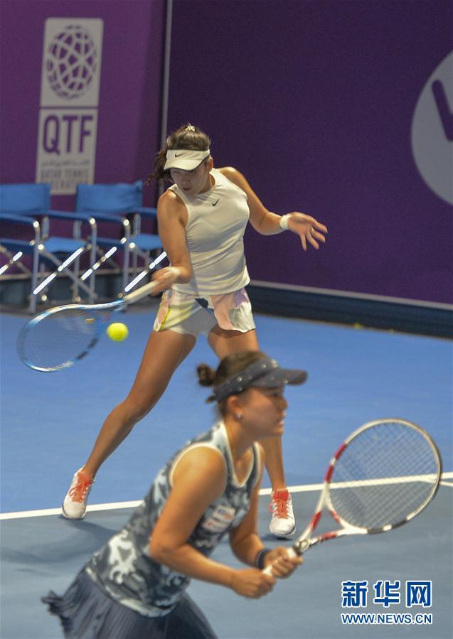 WTA卡塔尔公开赛:杨钊煊/二宫真琴晋级