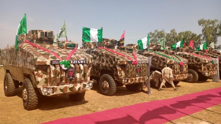 尼日利亚首款自研装甲车终于交付造型很特别