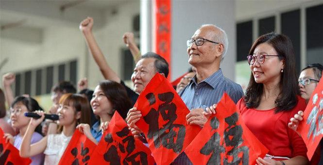 马来西亚举办书法活动为中国抗击疫情加油