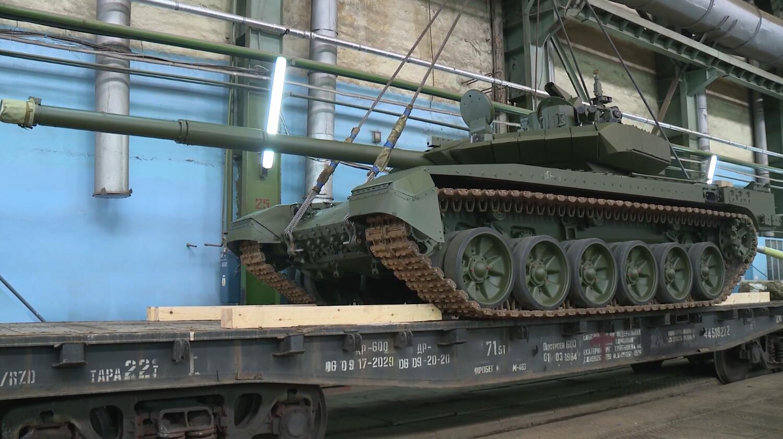 T-90M坦克今年将正式交付俄军 生产线曝光