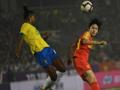 中国女足点球大战4:2战胜巴西 卫冕四国赛冠军