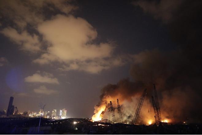 allbet gaming代理:【视频】排场惊人!黎巴嫩贝鲁特港大爆炸前后对比 第5张