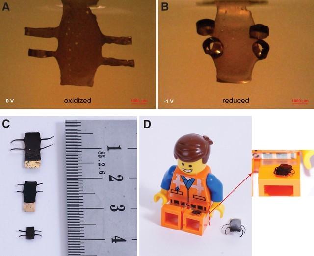 3D打印软机器人问世可达到微米级大小