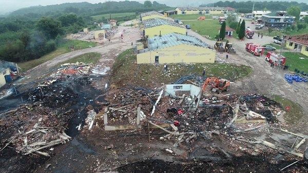 欧博开户:土耳其萨卡里亚烟花厂爆炸 罹难人数上升至6人