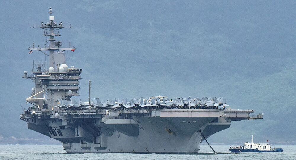 """""""罗斯福""""号航母777人确诊美军在关岛紧急新建医院"""