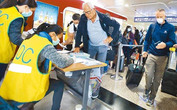 这班机好毒!3月30日自美返台班机已有6名乘客确诊