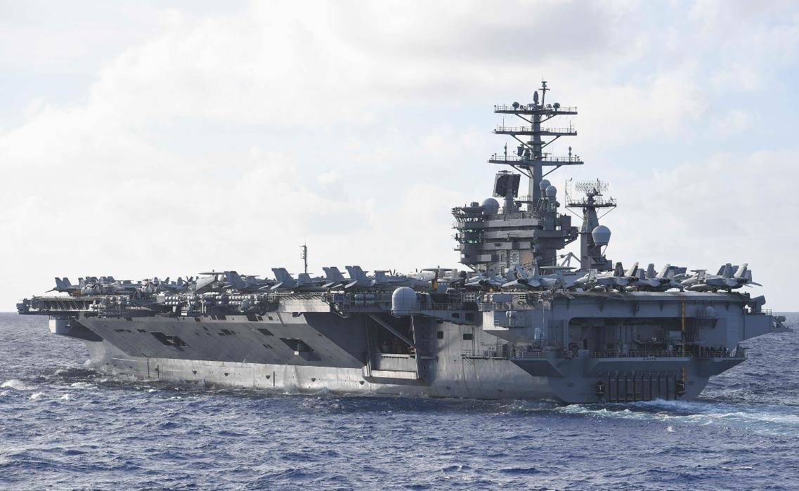 """美海军新服役一艘""""阿利•伯克""""级驱逐舰 仍有四艘在建"""