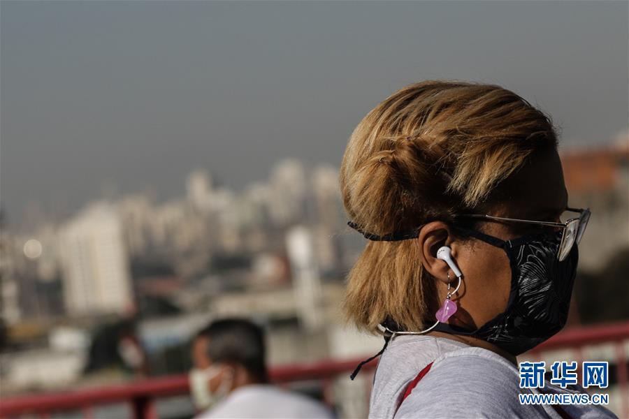 巴西新增确诊病例再创单日最大增幅