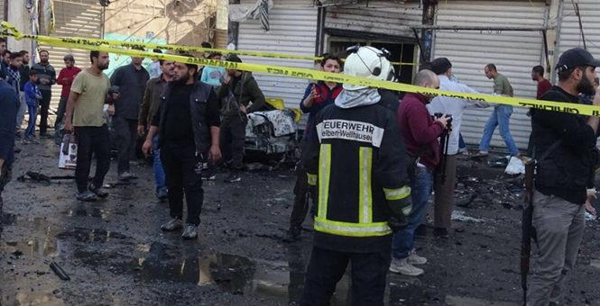 叙利亚阿勒颇省发生汽车爆炸袭击 致15人死亡