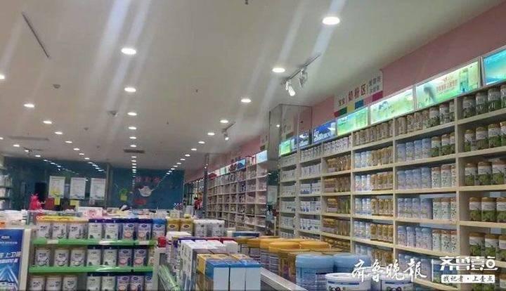 """记者探访郴州""""问题奶粉""""母婴店:仍正常营业,店员三缄其口"""