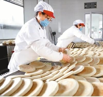 食品加工业,开足马力生产保供