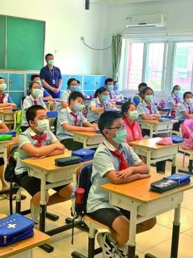 """不一样的""""六一"""",不一样的开学——北京40万名中小学生复课"""