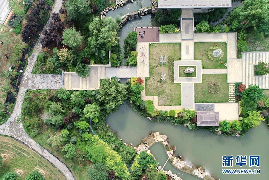 游园建设让市民共享绿色