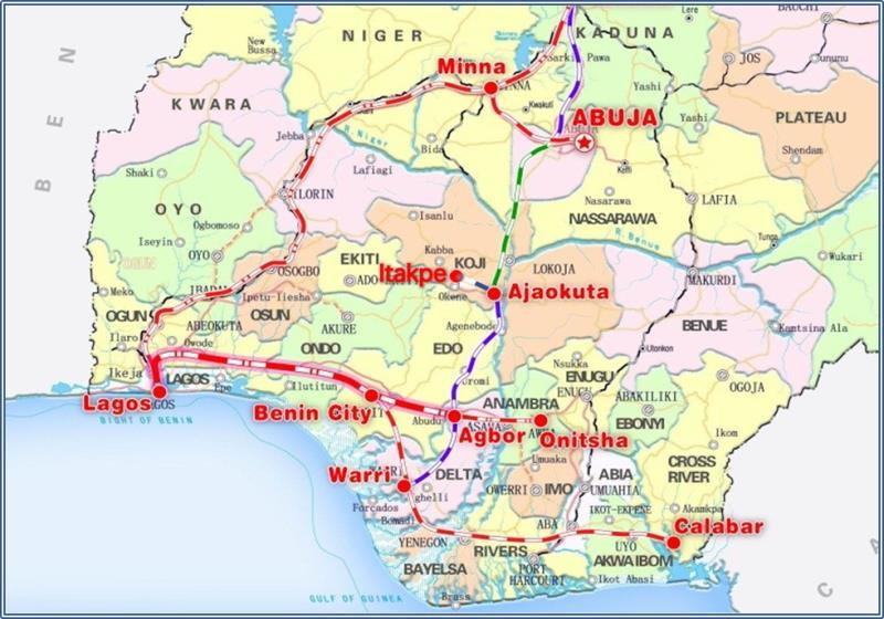 尼日利亚:中企辅助完成铁路修复革新 助力当地恢复发展经济 第2张