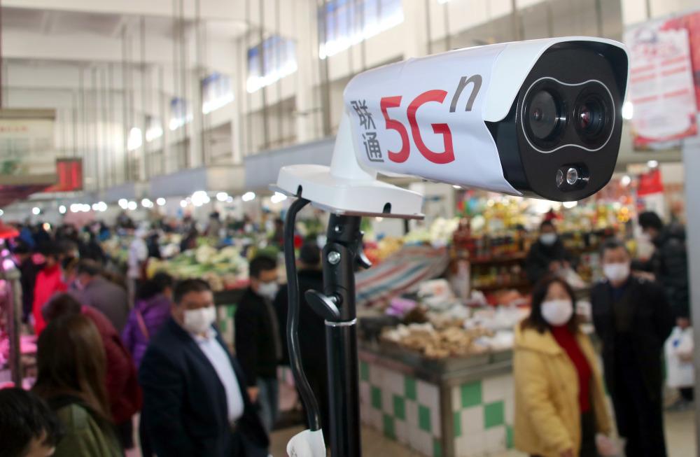 苏州:5G热成像体温检测系统投入使用
