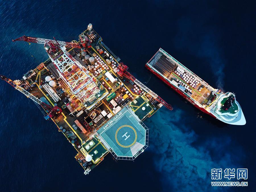 【图片故事】南海钻井工人
