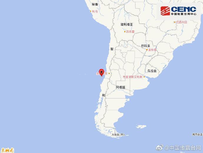 usdt无需实名(caibao.it):智利中部沿岸近海发生6.1级地震 震源深度10千米 第1张
