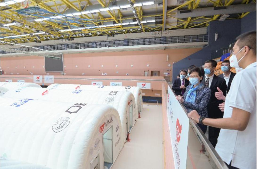220多位内地核酸检测支援队成员到港,林郑月娥:我代表全体香港市民向每一位支援队成员致谢