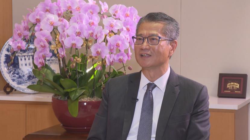 香港财政司司长陈茂波:强烈谴责美国所谓的制裁 是赤裸裸的霸凌行径