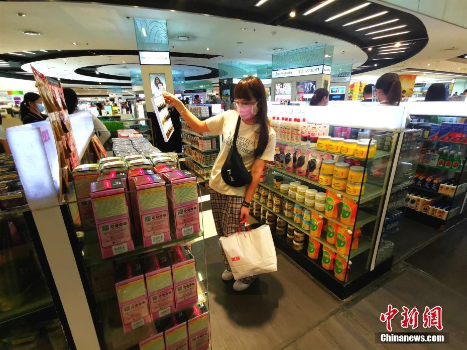 马尼拉商场陆续恢复营业