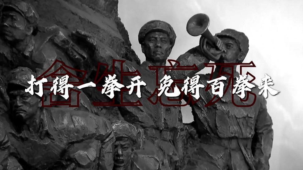 时政现场说丨向英雄致敬:民族血性正义必胜