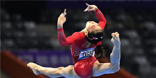 全國錦標賽:廣東隊奪得女子團體冠軍