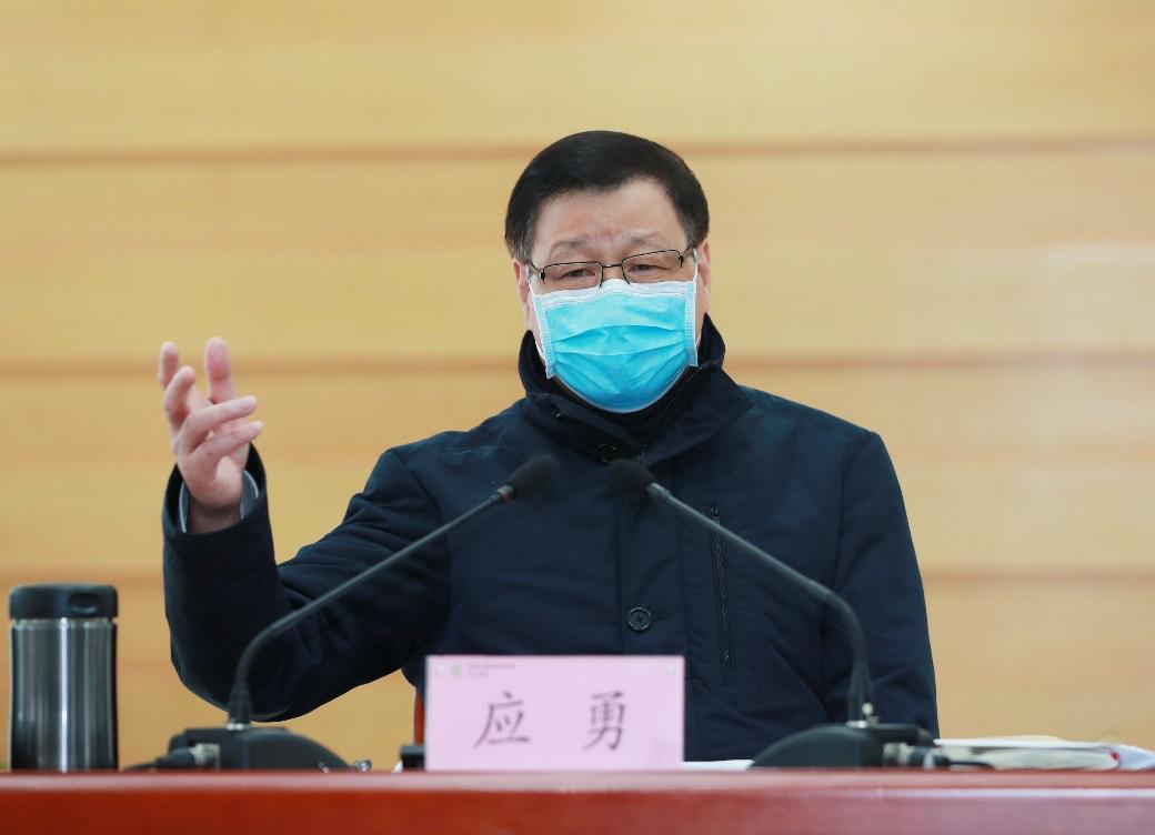 湖北省委书记应勇见了8家企业代表