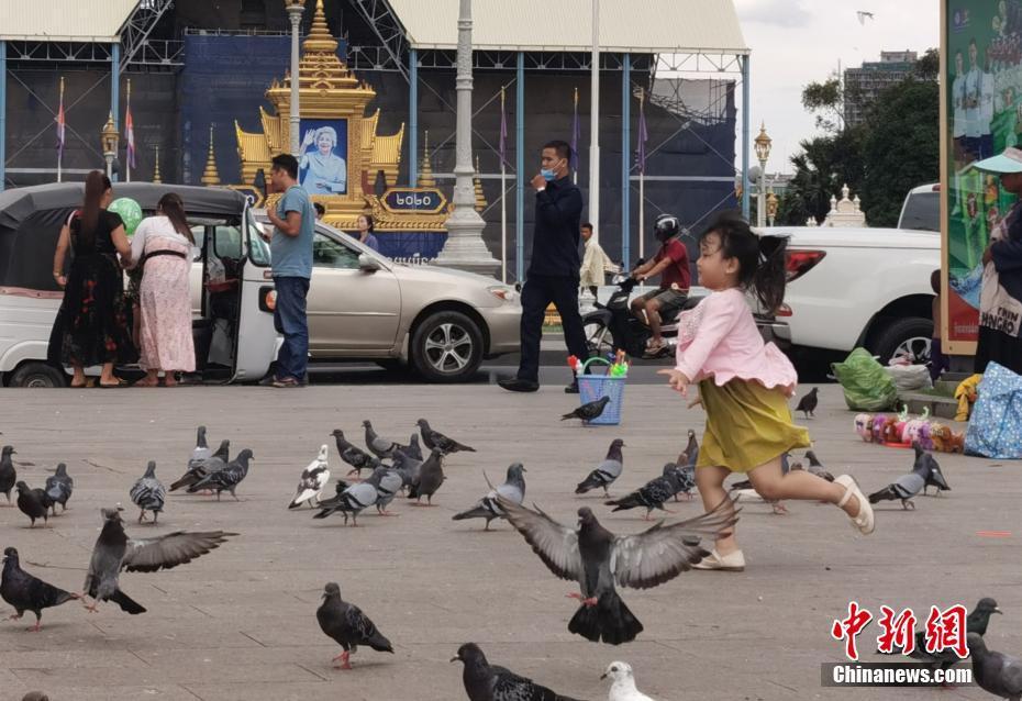 柬埔寨疫情趋于平稳 那个地方民众重返休闲生活