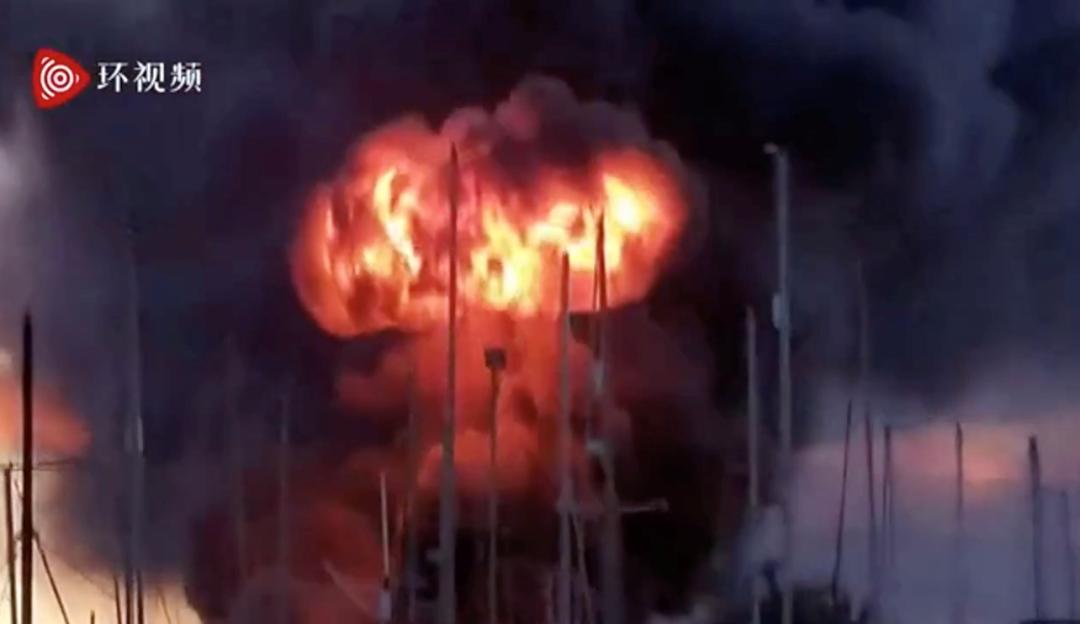 皇冠即时比分:英国一工厂突发爆炸!蘑菇云升起 第1张