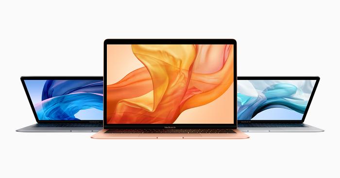 消息人士称,采用剪式键盘的MacBookAir新机或于下周到来