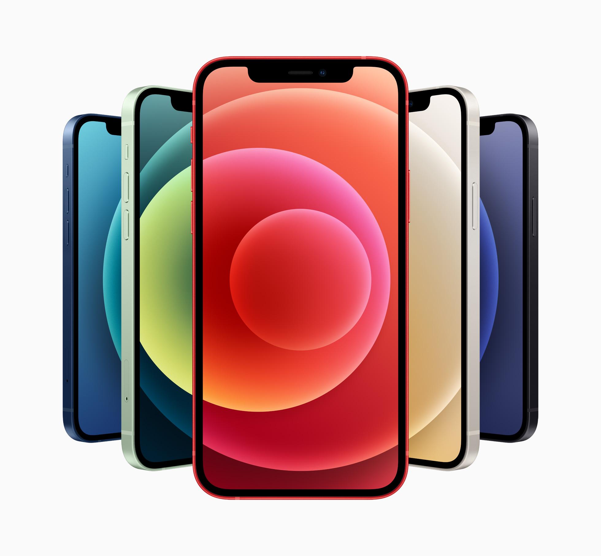 苹果iPhone12系列正式发布:四款机型均支持5G插图1
