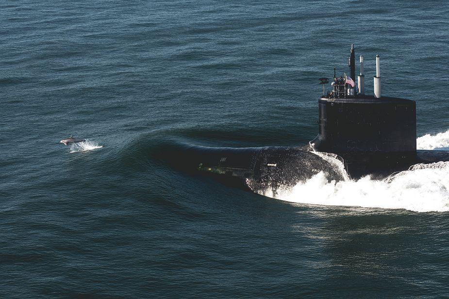 美国海军最新一艘核潜艇服役因疫情取消入列仪式