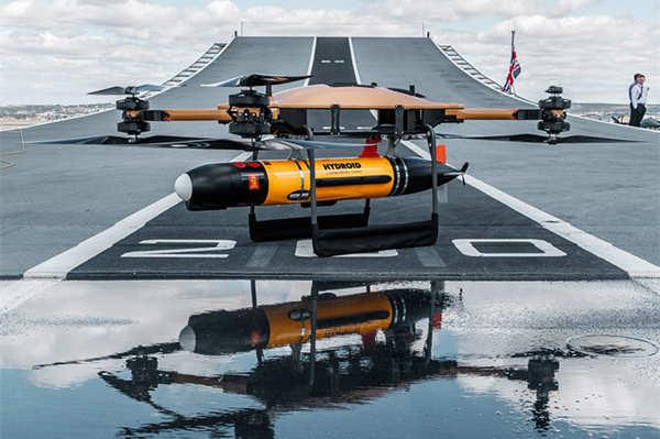 """无人机登上英国海军航母,设想""""改变游戏规则"""""""