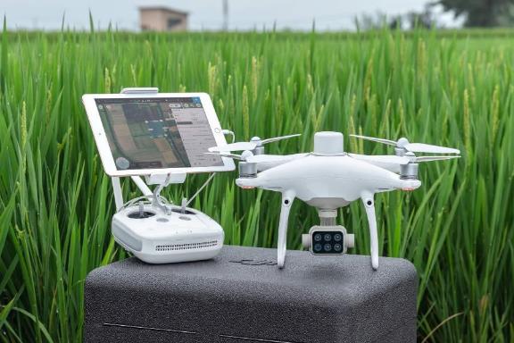 可用于精准农业:大疆精灵4多光谱版无人机公布