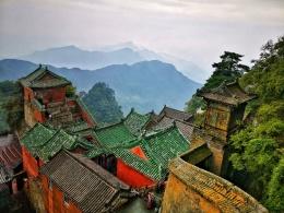 世界文化遗产:武当山,自带仙气的名山