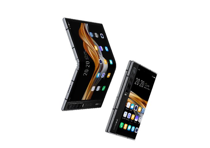 柔宇科技推出新一代折叠屏手机FlexPai 2:7.8 寸蝉翼三代全柔性屏