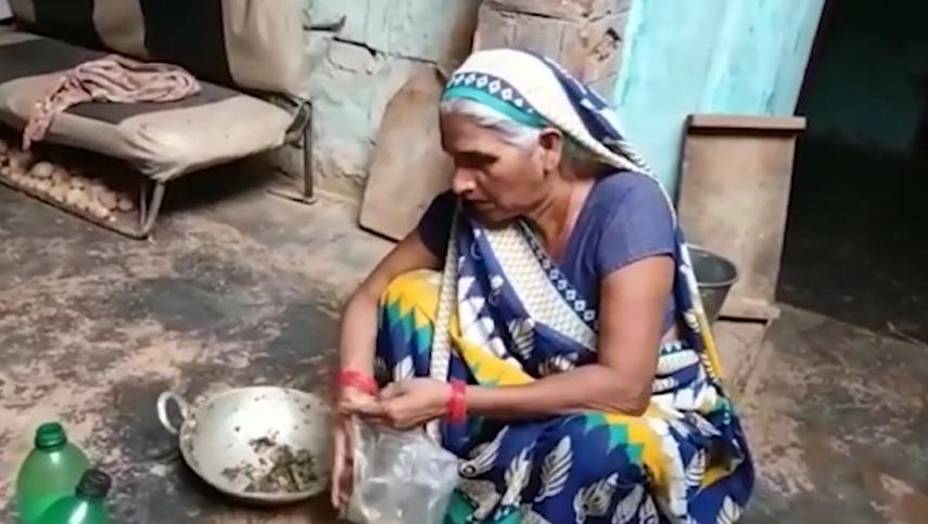 印度一菜贩用大麻冒充蔬菜送人一家6口误食后住院