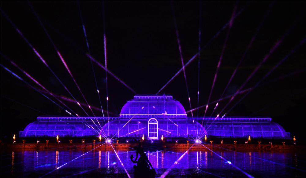 英皇家植物园圣诞灯光秀如约而至许你一个流光溢彩圣诞梦