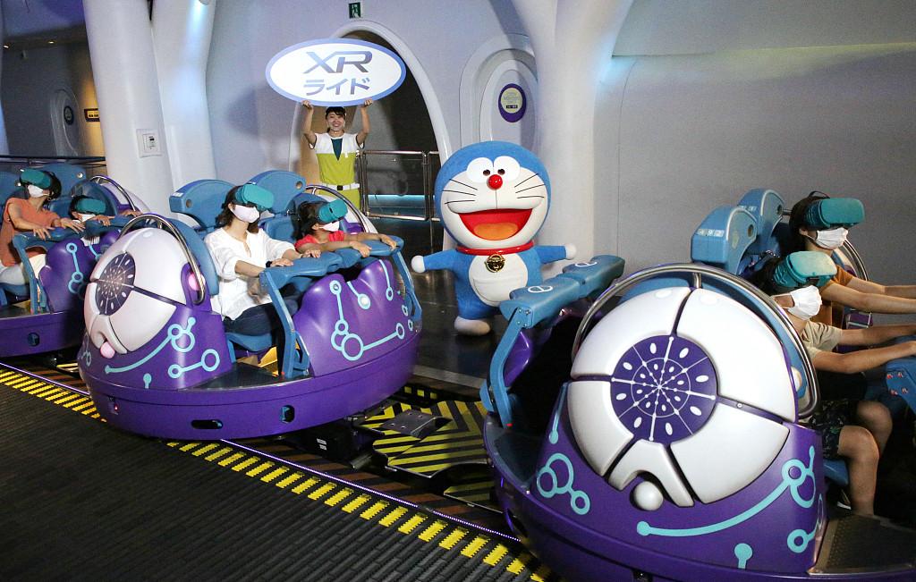日本环球影城推出哆啦A梦XR乘车游