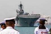 美国准航母抵达泰国将与中国军队参加同一军演