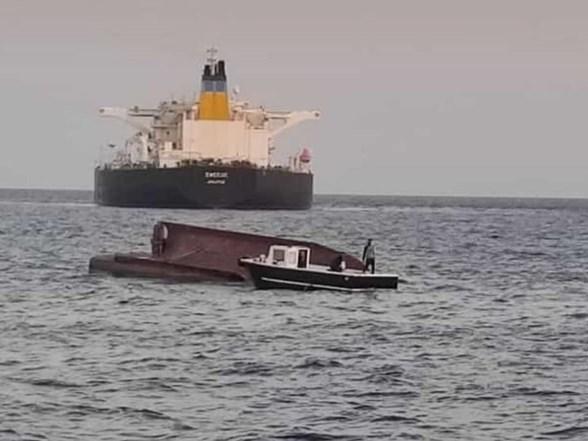 希腊油轮和土耳其渔船相撞 5人失踪
