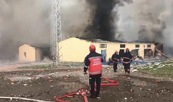 欧博app:土耳其萨卡里亚一烟花厂发生爆炸 已致4人殒命114人受伤 第5张