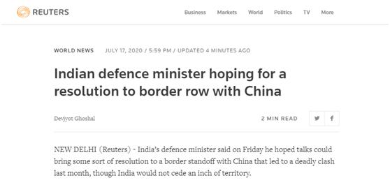欧博app下载:莫迪之后,印防长也去了中印疆域:希望中印谈判能带来某种解决方案 第2张